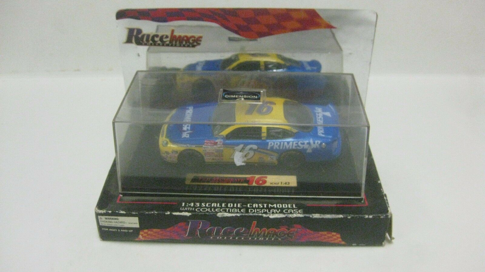 Nascar Race Image Ted Musgrave Primestar Ford Taurus 1 43 43 43 Diecast NEW dc1787 979307