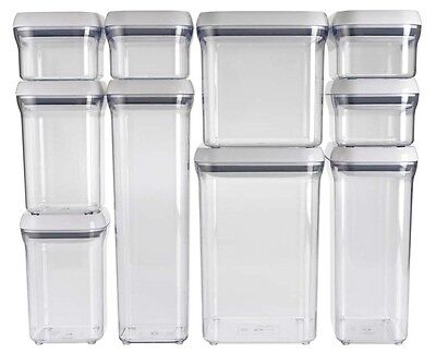 Oxo Good Grips Kitchen Food Bathroom Storage Box Pop