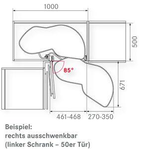 kesseb hmer corner shelves swivel base le mans ii 50 piece left 729 900mm 9009150027289 ebay. Black Bedroom Furniture Sets. Home Design Ideas