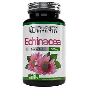 Echinacea-120-Tabletten-je-500mg-Sonnenhut-Erkaeltung-Immunsystem