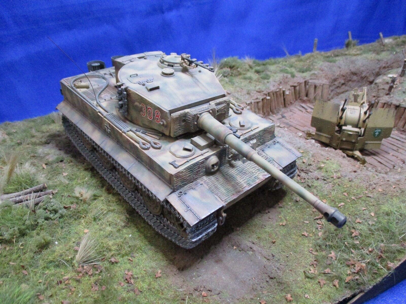 AF008 TAMIYA 35146 1 35 Tigre 1 Panzer Kampfwagen VI Sd Kfz181 Ausfuhrung MONTE