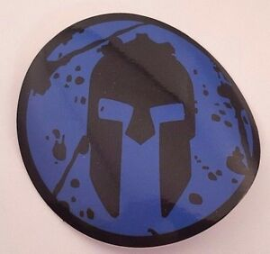 "NEW Spartan 3"" (Super) Blue - Decal Sticker"