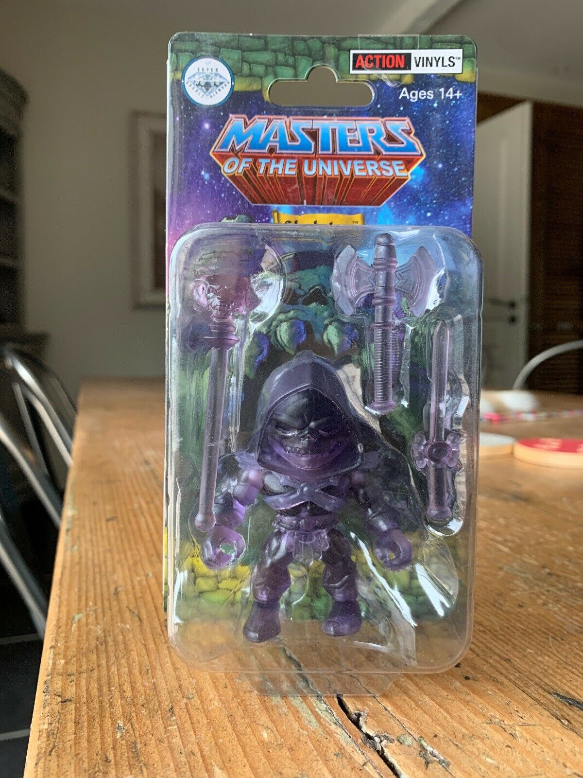 The loyal subjects Skeletor viola clear