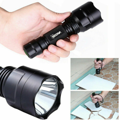 Tactical Red//Green//White T6//Q5 Hunting Hog Pig LED Flashlight Torch 18650 Mount