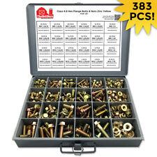 Grade 88 Metric Hex Flange Bolt Flange Nut Fastener Class Assortment Kit
