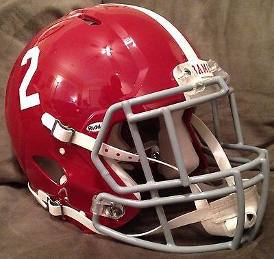 ALABAMA CRIMSON TIDE Riddell Speed GAMEDAY Football Helmet w// S2BDC-SP Facemask