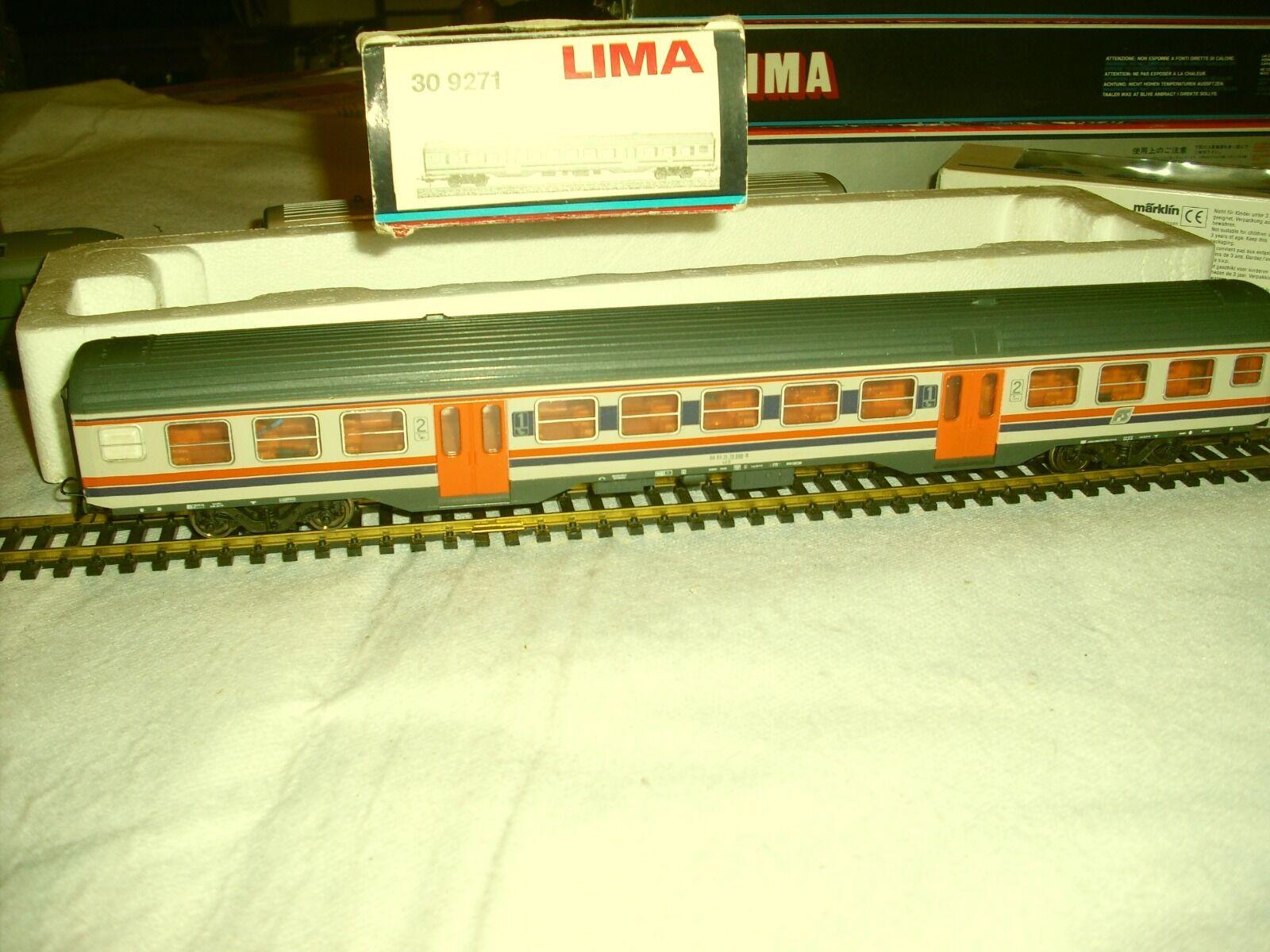LIMA - 309271 MDVC MISTA 1/ma-2da CLASSE ILLUMINATA,TIMONI CORTI,RUOTE BRUNITE