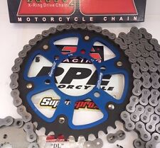 Z750 04-11 ZR750 BLUE SUPERSPROX JT CHAIN AND SPROCKETS KIT KAWASAKI QUICK ACCEL