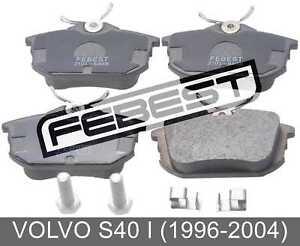 Pad-Kit-Disc-Brake-Rear-Kit-For-Volvo-S40-I-1996-2004