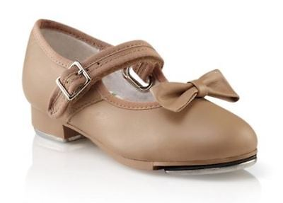 3800X Girls Style 3800C Capezio Mary Jane Caramel Tap Shoe for Child