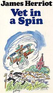 Vet-In-A-Spin-by-James-Herriot-1977-hardback