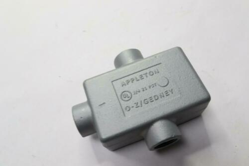 "Appleton Cast Device Box FSCC Malleable Iron 1 Gang 3//4/"" Hub FSCC-1-75"