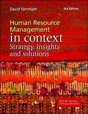 Human Resource Management in Context: Strategy, Insights and Solutions by Daniel