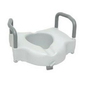 New 2 In 1 Locking 5 Quot Raised Or Elevated Toilet Seat Riser