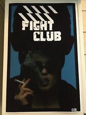 Fight Club movie poster print