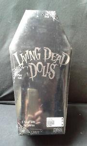 Poupée Ldd Mystery de Living Dead Dolls, neuve et scellée (c2000 Mezco)