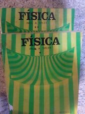 FISICA by Paul A. Tipler tom 1 & 2 Spanish Textbooks  SEE ALL PHOTOS