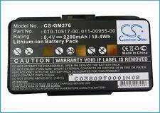 Battery for Garmin GPSMAP 276, GPSMAP 276c, GPSMAP 296, GPSMAP 396, GPSMAP 496