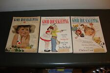 LOT OF 7 GOOD HOUSEKEEPING MAGAZINES 1948 TO 1963