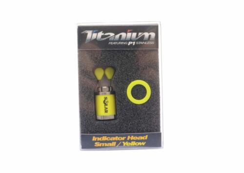 NEW Solar Tackle Titanium Range Indicator Head Bobbins All sizes /& Colours