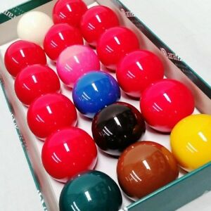 Aramith-Snooker-Balls-for-a-UK-Pool-Table-2-Inch-Ball-Size-10-Red-Balls-NEW