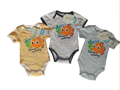 NEU Disney Baby Body Nemo Fisch Motiv 62//68-86 verschiedene Farben