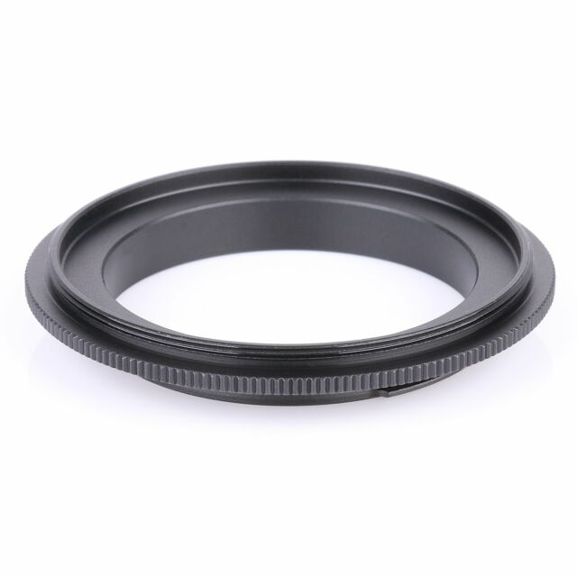 52mm Macro Lens Reverse Adapter Ring For Pentax PK Mount UK Seller