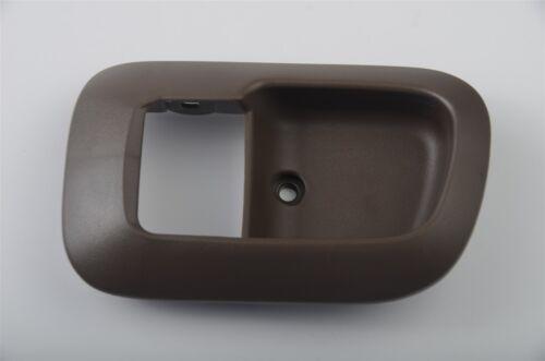 fits Toyota Sienna 98-03 Inside Interior Door Handle Bezel Trim Brown Oak Left