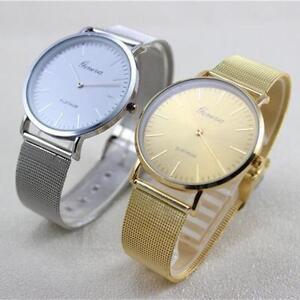 heiss-Damen-Modeuhr-Edelstahl-Ehering-Analog-Quarz-Armbanduhr-Watch