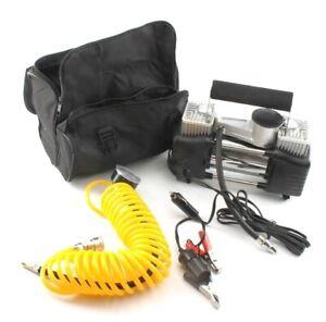 Due-fasi-12v-150psi-pressione-auto-pompa-ad-aria-compressore-AUTO-PNEUMATICI-COMPRESSORE-D-039-ARIA