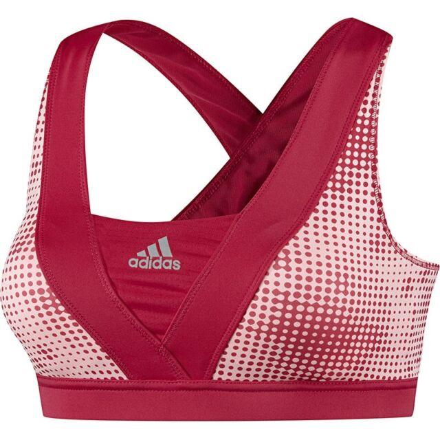 0ba5e88a3c adidas Supernova Racer Bra Sports Bra Fitness Yoga Womens Support Bra UK 6  for sale online
