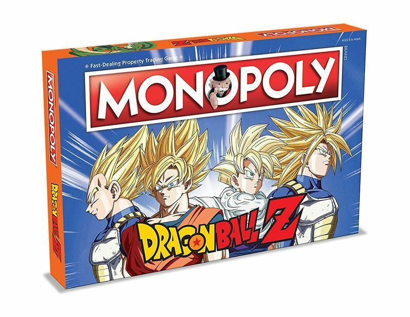 Dragon ball z monopoly - spiel