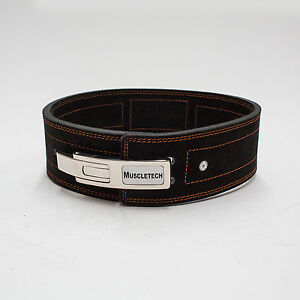 10mm-Genuine-Leather-Lever-Belt-Weight-Lifting-Bodybuilding-Power-Lifting-Belt