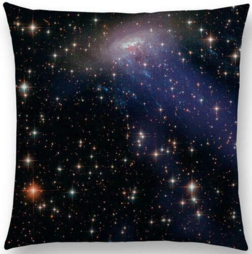 environ 45.72 cm espace univers Coton Lin Taie d/'oreiller Housse de coussin taille Housse decor 18 in