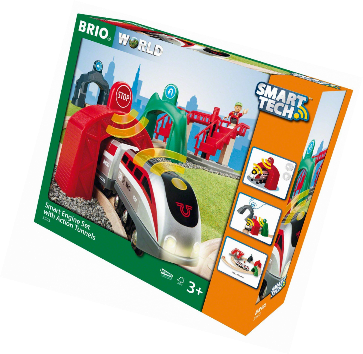 BRIO World - 33873 Smart Tech - 33873 - - Kreislauf Ravenala & Lokomotive INTELLIGENTE 90d760