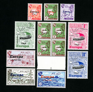 Herm-Island-Stamps-Lot-of-13-VF-OG-Issues