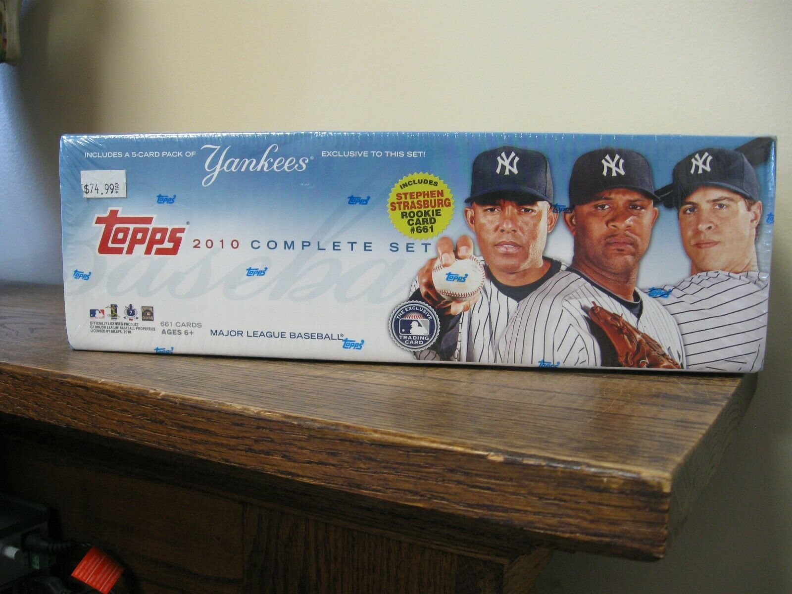 2010 TOPPS COMPLETE SET FACTORY SEALED 2 AVAILABLE