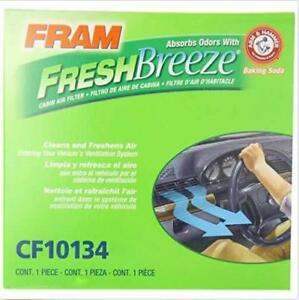 1 PACK FRAM CF10134 Fresh Breeze Cabin Air Filter with Arm /& Hammer
