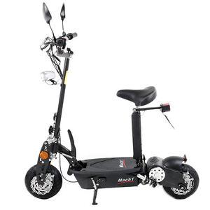 mach1 e scooter 500w 36v mit strassenzulassung mofa. Black Bedroom Furniture Sets. Home Design Ideas