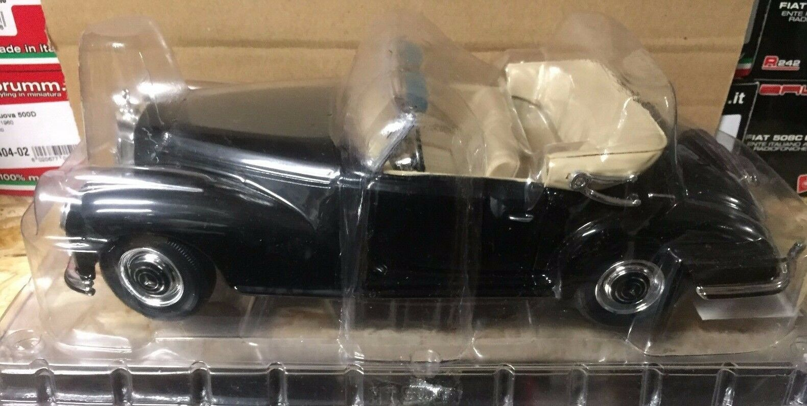 Druckguss  mercedes - benz 300 s 1955  1   18 hachette le mythische auto