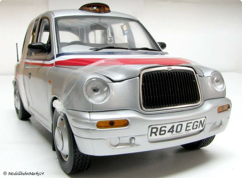 SUN STAR tx1 London Taxi Cab 1998  American Airlines  Scale 1 18