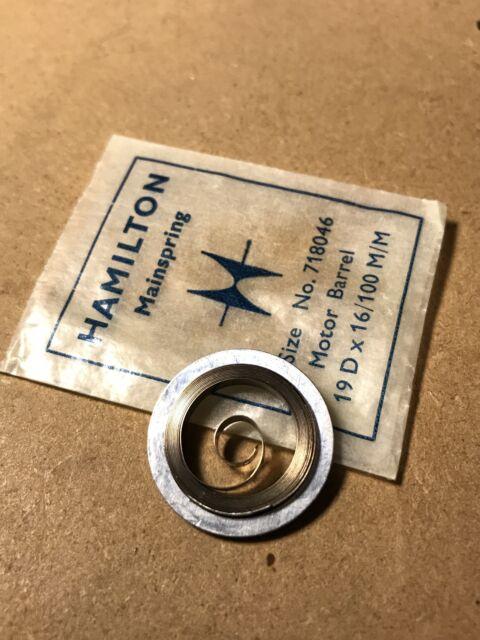 Hamilton 16s Mainspring #534B 718050 for 992B /& 950B Alloy