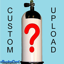 ScubaCool ***Custom*** Dive Tank Cylinder Cover Design Graphic Scuba Diving