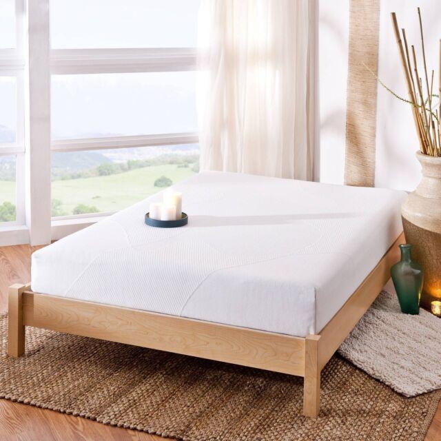 Gel Infused Memory Foam Mattress Bedding Comfort Queen Size Spa