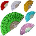 Dekoration Sonstige Angemessen Feder Fächer Taschenfächer Handfächer Flamenco Tanz 8 Farben Wedler Fecher