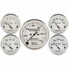 Auto Meter 1601 Gauge Kit 5 Pc 3 182 116 Mechanical Speedometer New