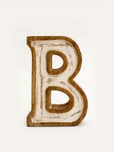 Floral-D-Wooden-Alphabet-Initial-Home-Table-Decor-Hall-Decor-Gift
