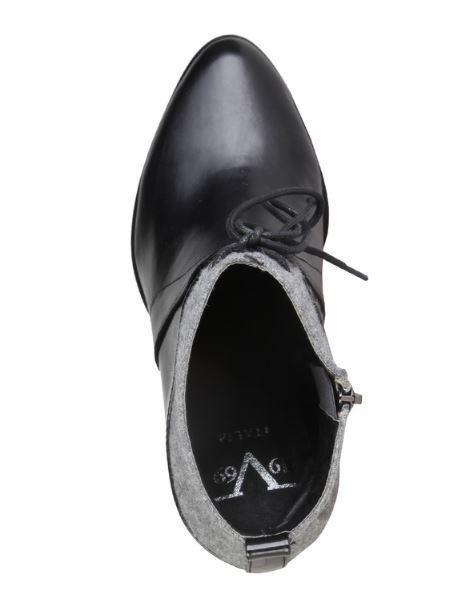 Versace V1969 ROCHELLE schwarz Echtleder Stiefelette Gr Gr Gr 36 37 38 39 40 41 e92989