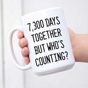 20th Anniversary Gift 20 Year Anniversary Gift 20th Wedding Anniversary Mug Ebay