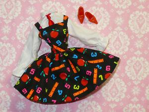 Mattel Barbie Doll Clothing Vintage 1990 S Teacher Dress And Shoes Lot Clothes Ebay